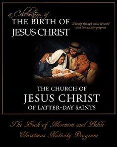Book of Mormon & Luke 2 Christmas Nativity Program