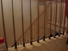 Baby Toolkit: Mind the Gaps: Babyproofing a railing & banister without breaking the bank