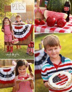 Fourth of July by Simple Gifts Photography | Photo Session Ideas | Props | Prop | Child Photography | Clothing Inspiration| Fashion | Pose Idea | Poses | Family | Fun | Siblings