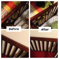The Bram Gals: Successful Pinterest DIY: wood repair