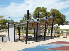 Linear Park Brimbank Custom Shelters