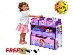 Sofia-the-Princess-First-Multi-Bin-Girls-Toy-Organizer-Boxes-Storage-By-Disney