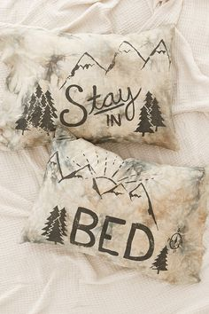 Stay In Bed Dyed Pillowcase Set