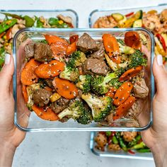 Super Easy Beef Stir Fry for Clean Eating Meal Prep! Super Easy Beef Stir Fry for Clean Eating Meal Prep!,FOOD Meal Prep The second recipe in our FOUR part series featuring FOUR different, but. Easy Beef Stir Fry, Stir Fry Meal Prep, Homemade Stir Fry, Lunch Meal Prep, Easy Meal Prep, Meal Preparation, Clean Eating Stir Fry Sauce, Meal Prep Salads, Beef Stir Fry Sauce
