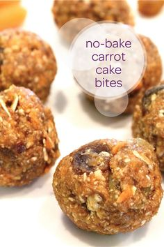 When your toddler gets home from a long day at preschool, serve these carrot cake energy bites as a healthy after-school snack. These bite-size sweet treats will be so yummy and are the perfect size for a toddler to munch on. Plus, you can make a big batch ahead of time so you've always got a snack on hand!