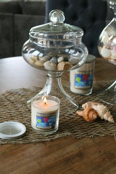 I can almost feel summer in the air with these candles! Today I'm sharing the New Summer Yankee Candle® Fragrances! #ad
