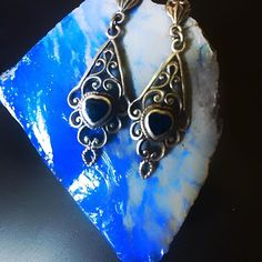 Black onyx vintage beauties!! Now on our etsy!