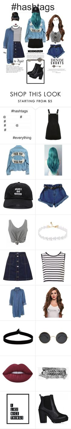 """""""Hashtags"""" by mickie-pcosta ❤ liked on Polyvore featuring WallPops, Oasis, Blackfist, Topshop, The Flexx, Lime Crime and Boohoo"""