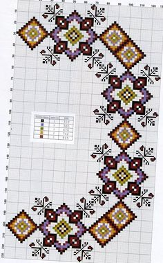 Embroidery Hungarian This Pin was discovered by NAL Cross Stitch Borders, Cross Stitch Flowers, Cross Stitch Kits, Cross Stitch Charts, Cross Stitch Designs, Cross Stitching, Cross Stitch Patterns, Hungarian Embroidery, Hand Embroidery Stitches
