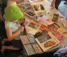 Children Making Zines