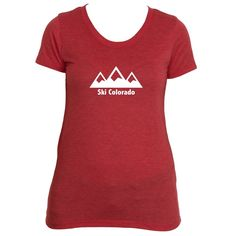 Ski Colorado Three Peak - Women's T-Shirt