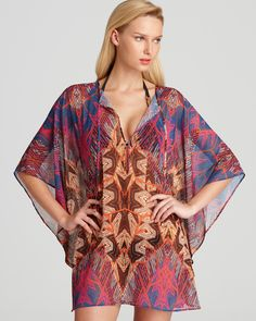 ViX St. Martin Caftan Swimsuit Cover Up | Bloomingdale's
