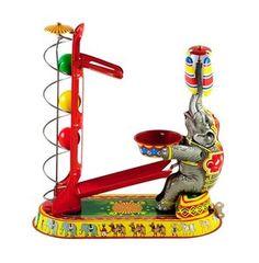 Blikken circus olifant