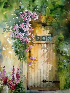 Watercolour Florals. Yvonne Harry