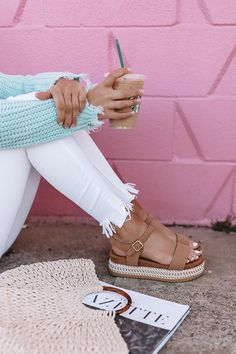 Feb 2019 - The Evalina Espadrille In Iced Latte • Impressions Online Boutique Sneakers Fashion, Fashion Shoes, Espadrilles, Mode Shoes, Girls Shoes, Ladies Shoes, Ladies Sandals, Ladies Wear, Luxury Shoes