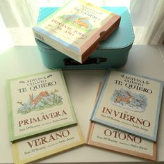 Adivina cuanto te quiero durante todo el año. Pack de 4 libros; primavera, verano, otoño, invierno