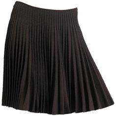Alaia Chocolate Ra-Ra Skirt   1stdibs.com
