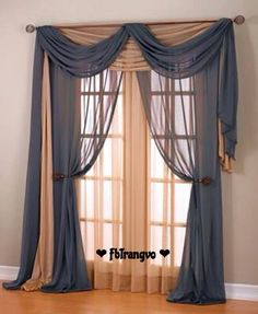 12 Best Ways To Hang A Scarf Valance Images On Pinterest