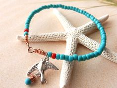Check out this item in my Etsy shop https://www.etsy.com/listing/231773971/turquoise-sparrow-bead-bracelet-bead