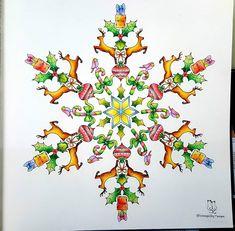 ⛦2016. 11. 04. . .  Johanna's Christmas Coloring Book  ➡ No.4 ; The finished painting ☃❄ ➡ Colored pencil, see the tag. . . ❄☃⛄ 넘나 심플하게.. 뭔가 많이 허전하다는..ㅠ . . . ✔컬러링도 본인의 창작에 의한 소유권이 있다 봅니다. ✔참고 하셨다면 뭐라 하지 않습니다. ✔다만, 출처를 남겨주시면 감사하겠습니다. Coloring is also an individual's ownership. If you have reported, If so, please mention the owner. . #JohannasChristmas #ChristmasColoringBook #JohannasChristmasColoringBook #조해너배스포드 #JohannaBasford  #컬러링북 #ColoringBook #adultcoloringbook #C...