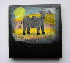Tiere und Kunst von Herbivore11 - Ein Kamel - Notizbüchlein Nr. 25