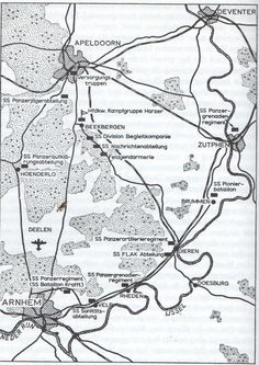 Waar lagen de verschillende Duitse eenheden op de Veluwe?