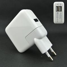 Find More Chargers & Docks Information about 1pc free shipping EU 2 ports Dual USB AC Power Adapter Dual usb wall charger EU plug for Apple iPad Mini iPhone 3 4 5 ,,High Quality Chargers & Docks from ShiXing electronics on Aliexpress.com