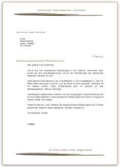 Die 17 Besten Bilder Von Bewerbungsschreiben Muster Letter Writing