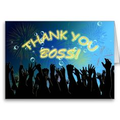 $$$ This is great for          Thank you cheering crowds for Boss Greeting Card           Thank you cheering crowds for Boss Greeting Card We have the best promotion for you and if you are interested in the related item or need more information reviews from the x customer who are own of them b...Cleck Hot Deals >>> http://www.zazzle.com/thank_you_cheering_crowds_for_boss_greeting_card-137718408717490871?rf=238627982471231924&zbar=1&tc=terrest