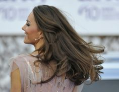 Kate Middleton. I want her hair.