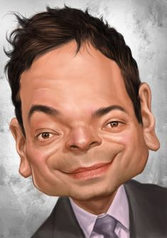 Jimmy Fallon by min jeong jin... Love this one <3