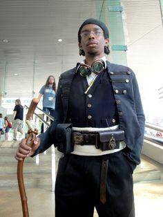 Steam Funk character, Alexander ir'Lupyne