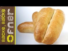 Rezept ergibt ca. 9 Stk a` Hot Dog Buns, Hot Dogs, Pain, Bread, Cooking, Food, Youtube, Homemade Breads, Chef Recipes