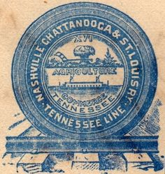Logo: Nashville, Chattanooga & St. Louis Railway - Tennessee Line