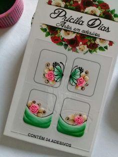 Uñas Nail Jewelry, Nail Envy, Nail Stickers, Pedi, Nails Inspiration, Nail Designs, Butterfly, Nail Art, Nail Art Tutorials