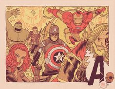 Assembly Line, by Dan Hipp. Damn right!