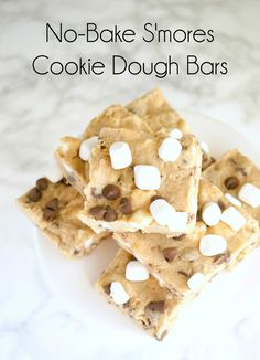 OMG. No-bake bars th...