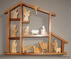 Shadow Box Nativity - Really Love