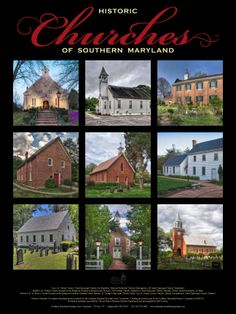 Historic Churches of Southern Maryland