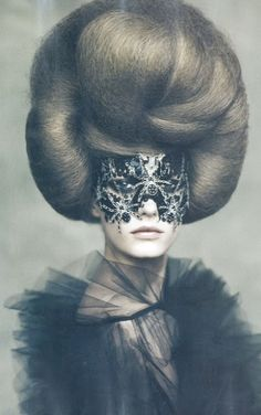 POST EXILE  LOOK | Encountering MATADOR lover| Valentino Haute Couture, Sigrid Agren by Paolo Roversi for Vogue Italia