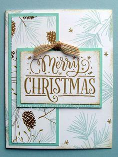CTMH Oh Deer Christmas card