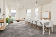 Rent meeting space at 870 Market Street, Suite 336 daily or hourly with Breather. Book office space in Tenderloin. San Francisco, Dining Table, Interior Design, Hospitality, Building, Retail, Inspiration, Furniture, Space