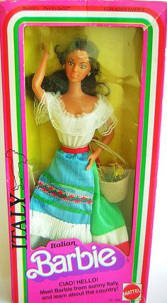 1979 DOTW Italian Barbie