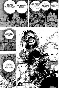 Muerte de Portgas D. Ace... // One Piece 574