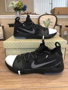 half off de72b 1f640 Nike Kobe AD Black  White Size 12 New in Box Authentic Excellent  performance shoes Comes with OG box and inserts.