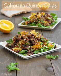 California Quinoa Orange Salad