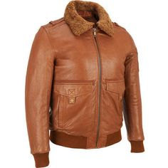 Wilsons Leather Lamb Bomber Jacket w/ Removable Faux-Fur Collar