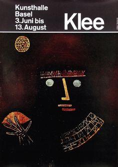 Armin Hofmann - Kunsthalle Basel Klee 1980