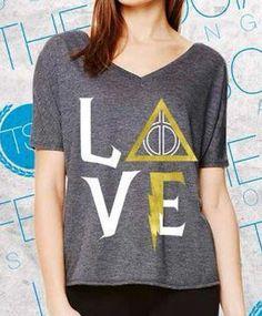 harry potter delta gamma love DG shirt