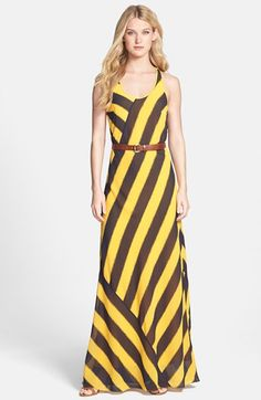 MICHAEL Michael Kors Belted Maxi Dress available at #Nordstrom